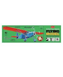 Guillow's Fairchild 24 Contest Balsa Wood Scale Model With 3 Mode Power Flying