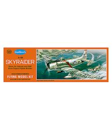 Guillow's A-1H Skyraider USAF Korea Vietnam War Bomber Scale Flying Model Plane Kit