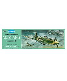 Guillow's USAF P-51D Mustang WW II Fighter Scale Flying Model Plane Kit