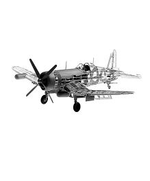 Guillow's WW II US Navy F4U-4 Corsair Fighter Giant Scale Model Flying Plane
