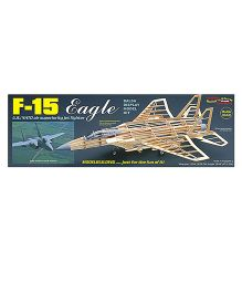 Guillow's US NATO F-15 Eagle Figher Display Non Flying Collector Model Plane