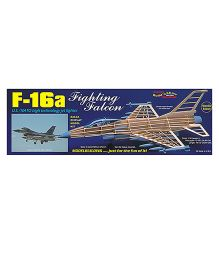 Guillow's US NATO F-16a Fighting Falcon Figher Display Non Flying Collector Model Plane
