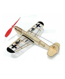Guillow's German Fighter Mini Rubber Powered Model Plane