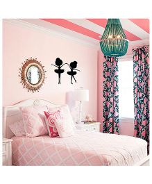 Studio Briana Two Cute Little Ballerinas Kids Room Wall Decal