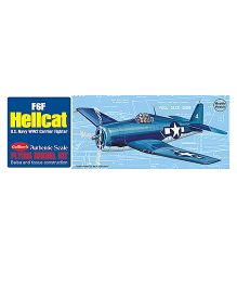 Guillow's US Hellcat Mini Rubber Powered Model Plane