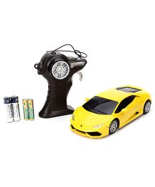 Maisto Lamborghini Huracan LP 610-4 Remote Controlled Car - Yellow