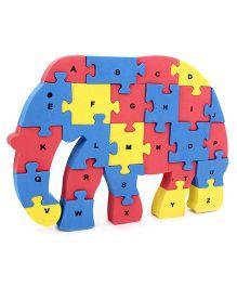Lovely EVA Foam 3 D Puzzle Multicolor - Set Of 26 Pieces
