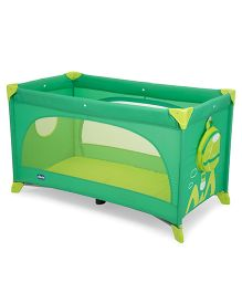 Chicco Easy Sleep Travel Cot - Green