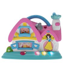 Chicco Snow White And 7 Dwarfs Musical Cottage - Pink