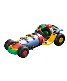 Mic O Mic Racing Car Plastic Toy Car - Multi Color