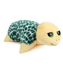 Ty Classic Plush Cushion Tortoise Design - Light Yellow