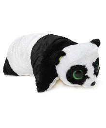 Ty Classic Plush Cushion Panda Face - White And Black