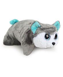 Ty Classic Plush Cushion Animal Face - Grey