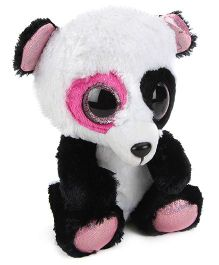 Ty Classic Jungly Friends Sanju Soft Toy Black White - Height 10 Inches