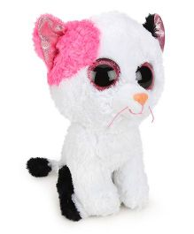 Ty Classic Jungly Friends Savana Soft Toy White - Height 10 Inches