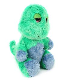 Ty Classic Jungly Friends Dynamic Dino Soft Toy Green - Height 10 Inches