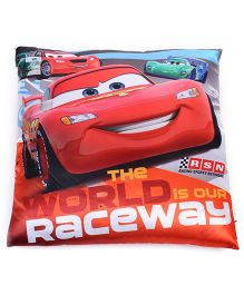 My Baby Excels Cars Cushion - Red