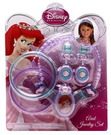 Disney Princess Ariel Jewelry Set - Blue