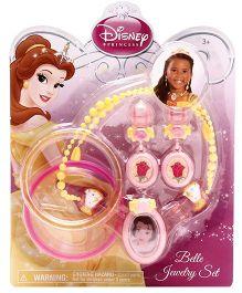 Disney Princess Belle Jewelry Set - Yellow