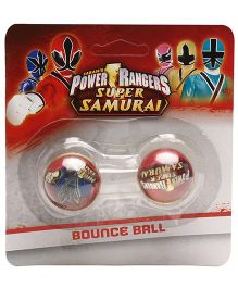 Power Rangers Bounce Ball Pack Of 2 - Red