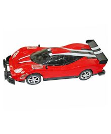 Adraxx American Vintage Remote Controlled Car Model - Red