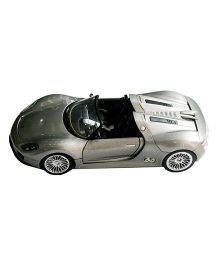 Adraxx Die Cast Porsche Convertible RC Car Model - Grey