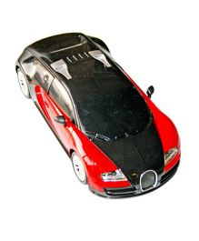 Adraxx Premium Concept Futuristic Roll Over Racing Car - Red