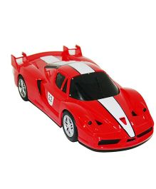 Adraxx Super Sports Racing Remote Controlled Car - Red And White
