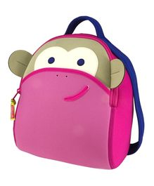 Blushing Monkey Backpack
