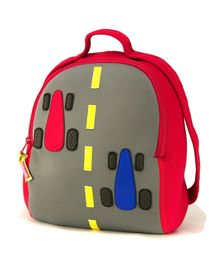 Fasttrack Racing Car Backpack