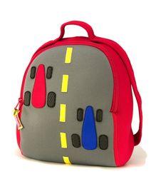 Fasttrack Racing Car Backpack