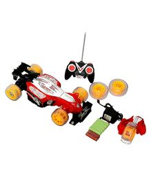 Adraxx 3 in 1 Mode Remote Controlled Racing Car Toy - Red