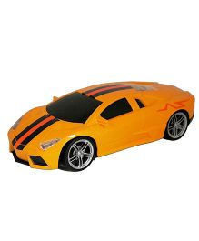Adraxx Gift Pack Remote Controlled Sports Car - Yellow