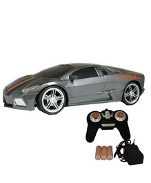 Adraxx Gift Pack Remote Controlled Sports Car - Silver