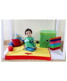 My Gift Booth Kids Bed Set Art Work Theme - Multicolor