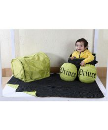 My Gift Booth Kids Bed Set Tennis Theme - Green