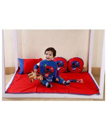 My Gift Booth Kids Bed Set Pirate Theme - Red
