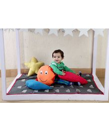 My Gift Booth Kids Bed Set Cloud Theme - Multicolor