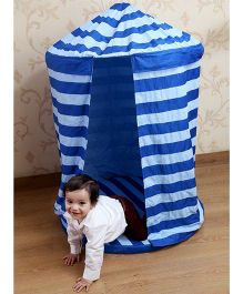 My Gift Booth Kids Hanging Tent With Floor Bed - Blue