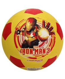 Marvel Rubber Soccer Ball - Yellow And Red