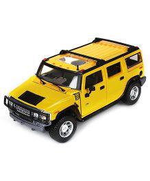 Maisto Metal Kruzerz 2003 Hummer H2 SUV -Yellow