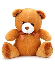 IR Teddy Bear Soft Toy Brown - Length 12 Inches