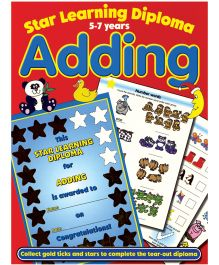 Star Learning Diploma for Adding - English