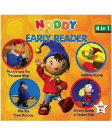 Noddy Early Reader 4 In 1 - Orange