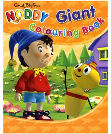 Noddy Giant Colouring Book Orange - English