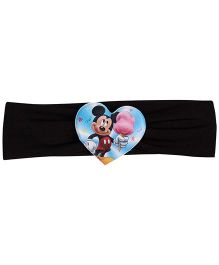 Disney Headband Mickey Mouse Graphic - Black