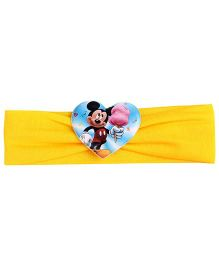 Disney Headband Mickey Mouse Graphic - Yellow