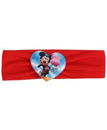 Disney Headband Mickey Mouse Graphic - Red