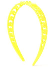 Disney Double Strap Hair Band - Yellow