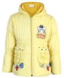 Peridot Full Sleeves Hooded Jacket